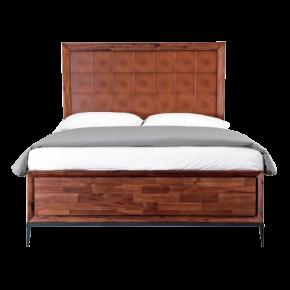 Кровать EMERSON,  массив тополя, ширина 1600