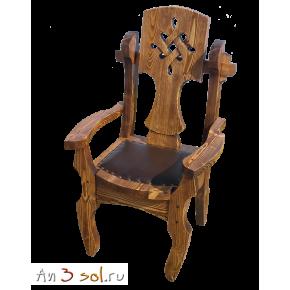 Кресло мягкое СКАНДИНАВСКАЯ СКАЗКА, массив сосны