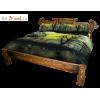 Кровать СКАНДИНАВСКАЯ СКАЗКА, массив сосны, ширина 1400