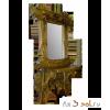 Зеркало с полкой СКАНДИНАВСКАЯ СКАЗКА, 120 см х 76 см, массив сосны