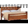 Кровать ЭЛЬБА, массив берёзы, ширина 1200
