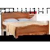 Кровать ЭЛЕОНОРА, массив берёзы, ширина 1200