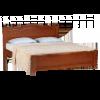 Кровать ПАРИЖАНКА, массив берёзы, ширина 1200