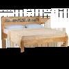 Кровать САНДРИНА, массив берёзы, ширина 1200