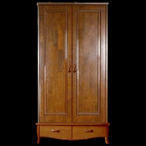 Шкаф двухдверный ВЕРОНИКА, массив берёзы
