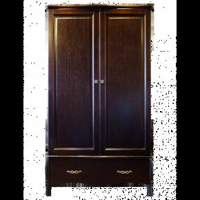Шкаф двухдверный 2 ВЕРОНИКА, массив берёзы