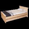 Кровать БРУСНО, массив сосны, ширина 900