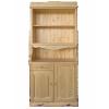 Шкаф для посуды двухдверный КАНТРИ с одним ящиком, массив сосны
