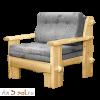 Кресло-кровать СКАНДИНАВИЯ, массив сосны