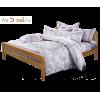 Кровать ЕВА, массив сосны, ширина 1800