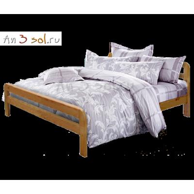Кровать ЕВА, массив сосны, ширина 1600