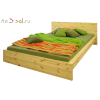 Кровать ПЛАТО, массив сосны, ширина 2000