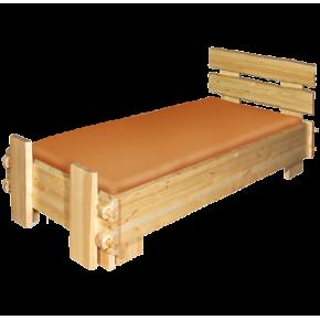 Кровать СКАНДИНАВИЯ, массив сосны, ширина 900