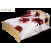 Кровать УСЛАДА, массив сосны, ширина 1800