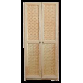 Шкаф комбинированный ОРИОН двухдверный, массив сосны