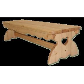 Стол обеденный КАНТРИ, массив сосны