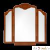 Зеркало-трельяж ЮТА-03-11, 89 см х 90 см, массив берёзы