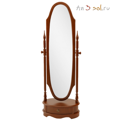 Зеркало ЮТА-15-11, 183 см х 66 см, массив берёзы